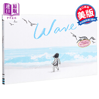【中商原版】Suzy Lee:Wave 海浪 儿童亲子故事绘本 《纽约时报》获奖童书 精装 英文原版 3-9岁