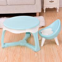 儿童桌椅幼儿园桌椅套装宝宝学习桌椅塑料桌椅儿童娱乐桌椅套装