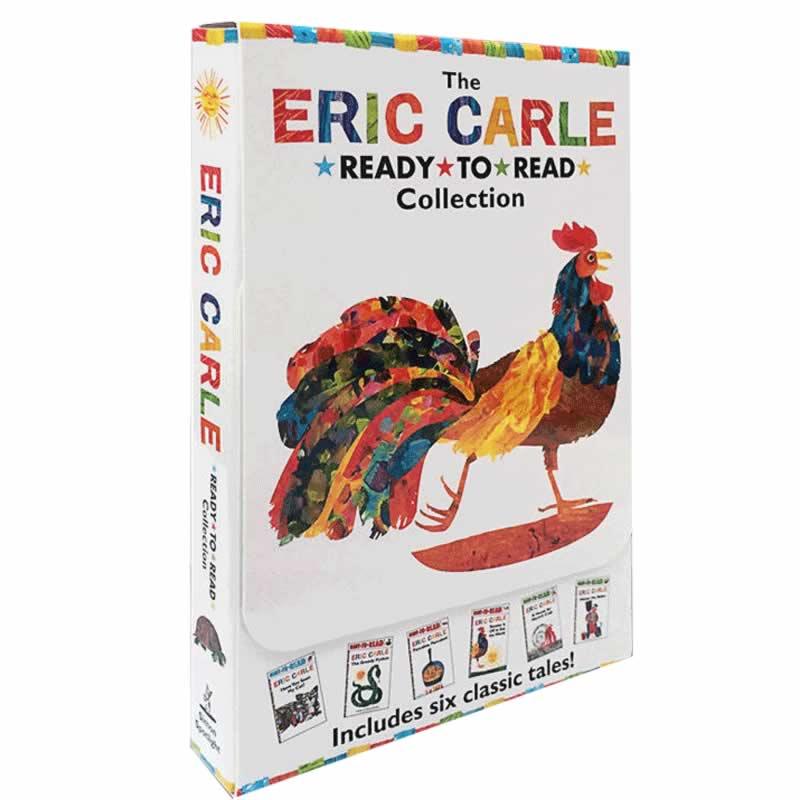 进口英文原版 卡尔爷爷 Eric Carle Ready to Read Collection 六本盒装 Have You Seen My Cat