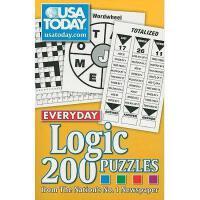 【预订】USA Today Everyday Logic: 200 Puzzles from the