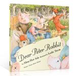 英文原版绘本 Dear Peter Rabbit 亲爱的彼得兔 儿童启蒙英语绘本 图画故事书 经典童话故事 晚安床边故