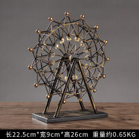 世界知名模型埃菲尔铁塔摩天轮创意家居客厅酒柜装饰摆件