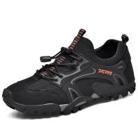 秋季新款登山鞋男耐磨 户外休闲鞋软底 爸爸鞋旅游运动单鞋