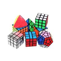 魔方三四阶顺滑比赛套装全套初学者玩具圣手异形镜面金字塔五