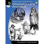 【预订】Grandville's Animals [With CDROM]