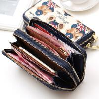 钱包女长款女士钱包拉链多功能手拿包