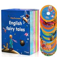 英文原版 English Fairy Tales10本套盒装附CD 世界经典童话儿童阅读故事绘本 白雪公主/三只小猪/