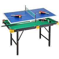 桌球台儿童台球桌 斯诺克台球桌 儿童标准 家用台球桌美式英式乒乓球桌二合一