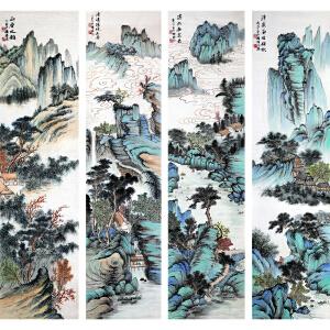 杨耀辉《流水去无意》著名画家 有作者 本人授权
