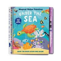 神奇的水彩画 海底世界 Magical Water Painting: Under the Sea 英文原版 低幼幼儿启