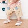 迷你巴拉巴拉男女童宝宝中裤夏装婴幼儿卡通动物短裤儿童裤子