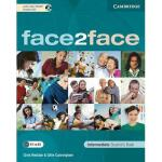 【预订】Face2face Intermediate Student's Book [With CDROM]
