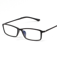 防辐射眼镜男女潮 方框平光电脑游戏护目抗疲劳防蓝光可配近视