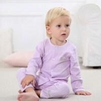 宝宝幼儿内衣套装男女小童长袖秋装婴儿家居服