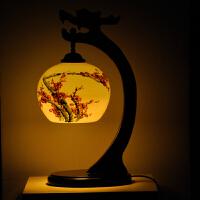 遥控调光龙头灯具 景德镇陶瓷装饰灯 婚庆用品 创意礼品生日结婚礼物 商务礼品