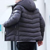 潮流加绒冬装棉袄土青年男士冬季帅气棉衣服外套