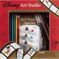 【预订】Disney Art Studio [With Palette and Drawing Pencil