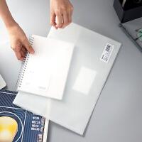 得力5506 文件袋 F/C 资料袋 纽扣档案袋 按扣双面公文袋 档案袋