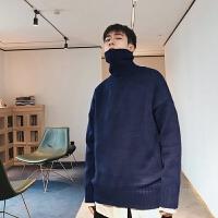 高领毛衣男韩版潮流冬季慵懒风加厚针织衫冬天毛线衣