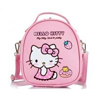 儿童小包包公主斜挎包中大童可爱淑女童3背包时尚斜挎包双肩包潮 粉色KT 3用