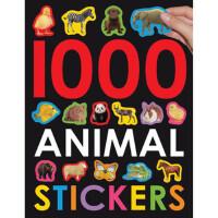 英文原版 1000 Animal Stickers 1000个动物贴纸