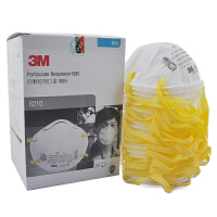 3M防颗粒物口罩 8210 N95 20个装 PM2.5 共20盒