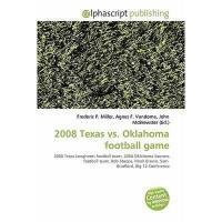 【预订】2008 Texas vs. Oklahoma Football Game