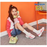 Skechers斯凯奇男童女童亲子鞋 时尚休闲魔术贴熊猫鞋童鞋996301L
