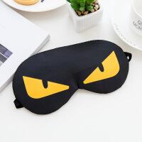 眼罩 冰敷冰袋卡通男女士办公室午睡眠遮光护眼布艺眼罩 旅游用品