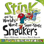 英文原版StinkandtheWorld'sWorstSuper-StinkySneakers