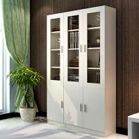 百意空间定制书柜组合 简约现代收纳置物柜 展示柜 多功能柜子