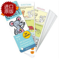 【现货】英文原版 Brain Quest for Threes, Ages 3-4, Revised 4th 儿童智力