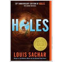 【现货】英文原版 Holes 洞  Louis Sachar  1999年纽伯瑞金奖 2000年平装版  10-13岁 假期读物 新版