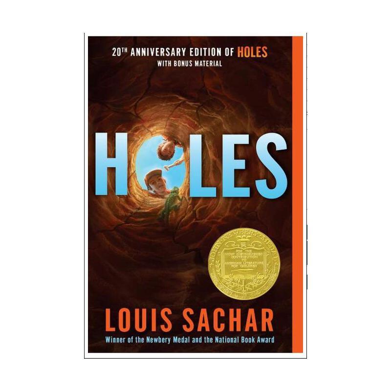 【现货】英文原版 Holes (DG) / Sachar Holes 洞 1999年纽伯瑞金奖 2000年平装版 国营进口!品质保证!