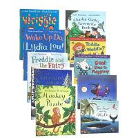New Julia Donaldson 10-book 10册原版故事绘本合售含聪明豆系列