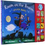 Room on the Broom 英文原版绘本 女巫扫帚排排坐 发声书 咕噜牛作者 Julia Donaldson