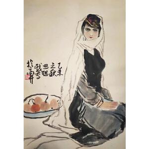王思聪《人物7001》著名画家