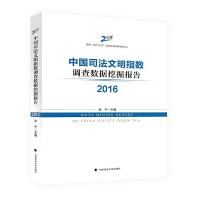 中国司法文明指数调查数据挖掘报告(2016)
