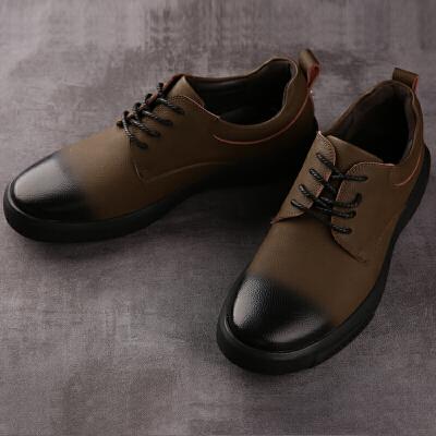 承发 休闲男复古系带耐磨擦色男士皮鞋子 26110 店铺上新,男靴爆款热卖,快来看看吧~