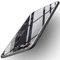 小米note3手机壳玻璃星空全包硅胶女款男