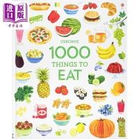 【中商原版】1000种食物(新版)Usborne 1000 Things To Eat 日常生活 食物 世界特色美食
