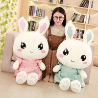 女生布娃娃睡觉抱枕玩偶公仔女孩公主送女友韩国可爱兔子毛绒玩具