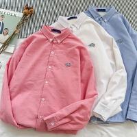 男士衬衫2018春季保暖衣服长袖保暖韩版学生修身打底衫潮流男衬衣