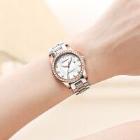 手表女腕表复古精钢带防水夜光石英表女