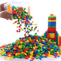 火箭子弹头积木玩具3-6周岁 5-7-8-9女孩智力拼装儿童益智男孩4岁