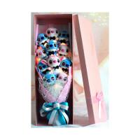 史迪奇龙猫史迪仔公仔卡通花束送闺蜜女友男友生日礼物圣诞节礼物惊喜的节日礼品