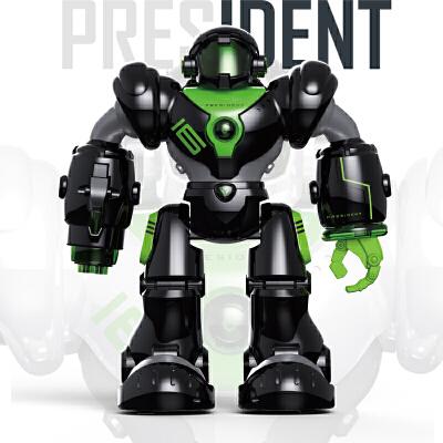 盈佳 新威尔机械战警智能遥控机器人 儿童多功能电动玩具益智玩具限时钜惠