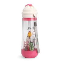 美国drinkadeux小孩饮水儿童喝水杯宝宝吸管杯婴儿学饮杯水壶防漏