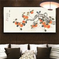 客厅挂画卧室床头画壁画国画花鸟装饰画
