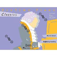 【预订】PreTime Piano, Primer Level, Classics